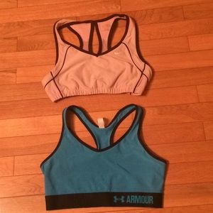 Nike & Under Armour bras